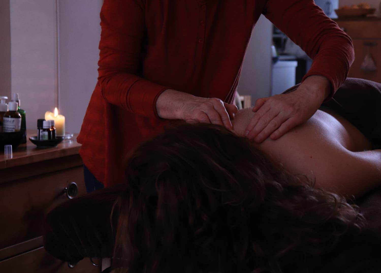 massage bien-être laurence guillon